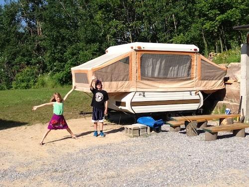 family tent trailer